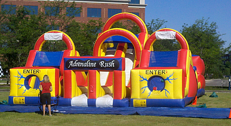 obstacle courses and interactive rides inflatable rides special rh specialeventfun com